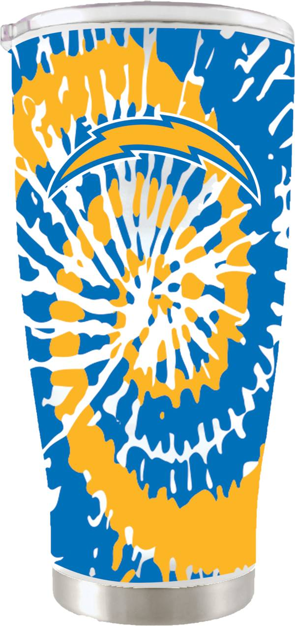 The Memory Company Los Angeles Chargers 20 oz. Tie Dye Tumbler product image