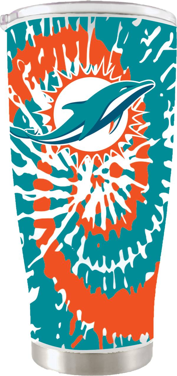 The Memory Company Miami Dolphins 20 oz. Tie Dye Tumbler product image