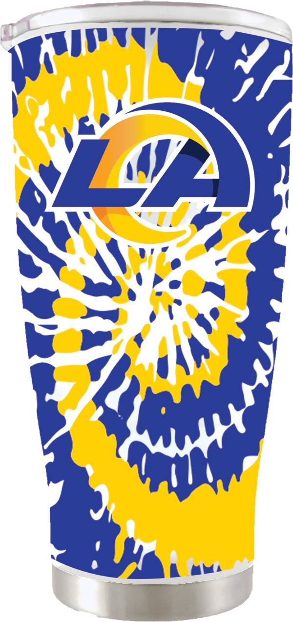 The Memory Company Los Angeles Rams 20 oz. Tie Dye Tumbler product image