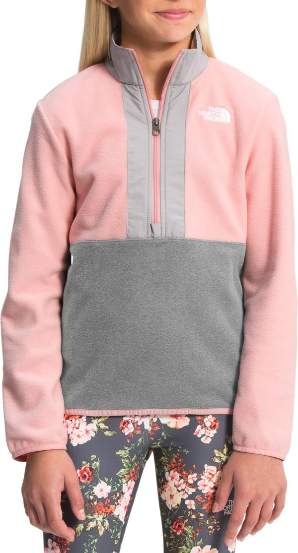 The North Face Girls' Glacier ¼ Zip Fleece Jacket product image