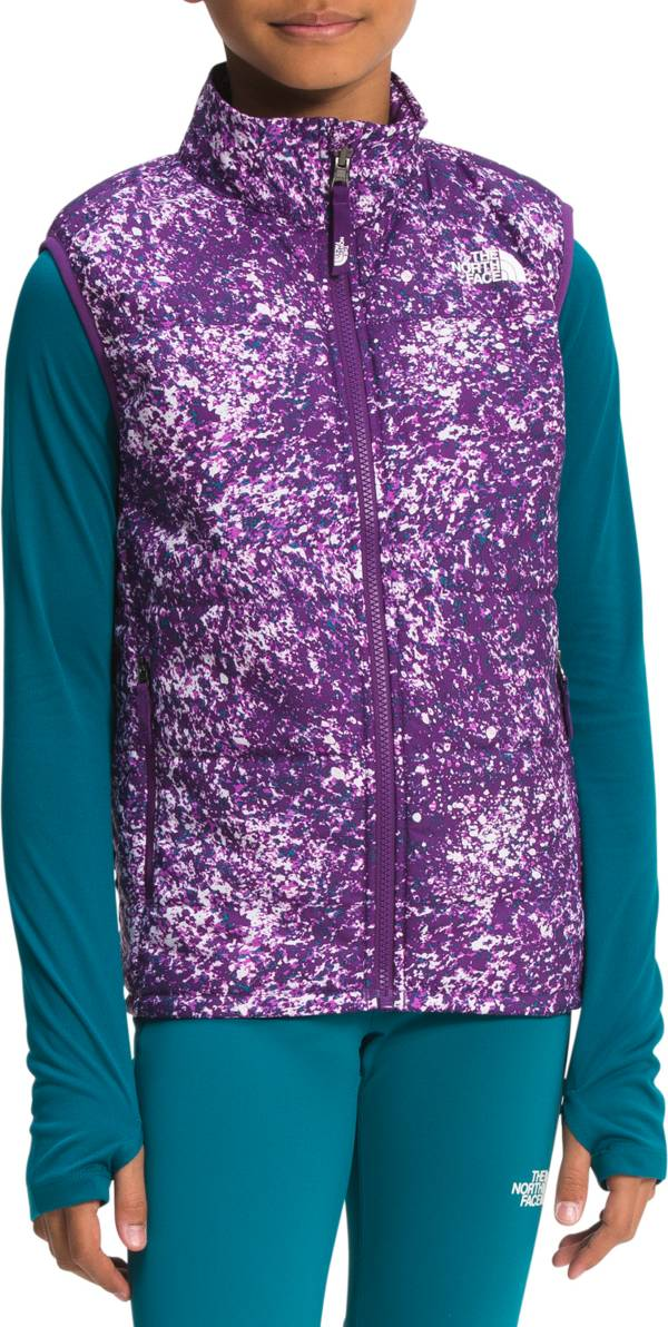 The North Face Girls' Printed Reactor Insulated Vest product image