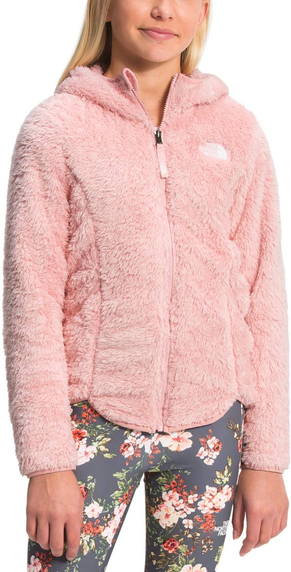 The North Face Girls' Suave Oso Hooded Full-Zip Jacket product image