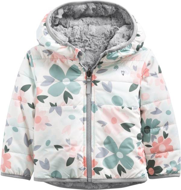 The North Face Infant Girls' Mossbud Swirl Full-Zip Reversible Hooded Jacket product image