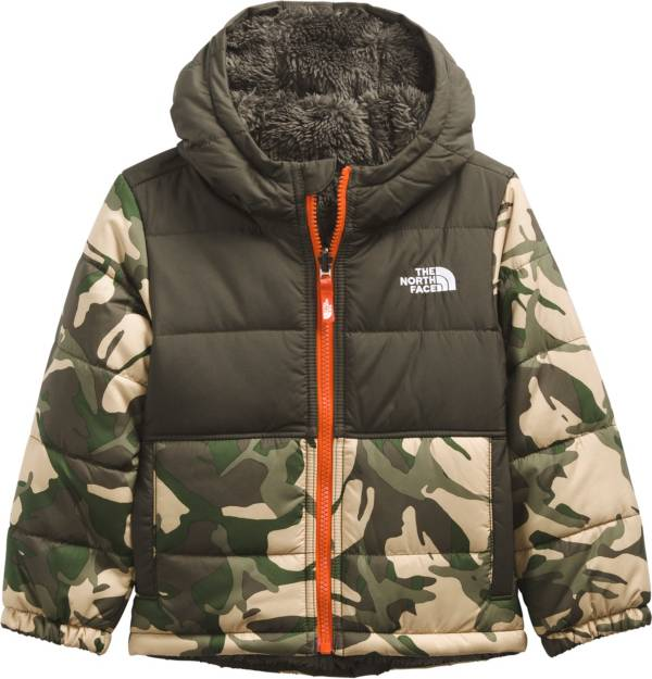 The North Face Toddler Boys' Mount Chimbo Full-Zip Reversible Hooded Jacket product image