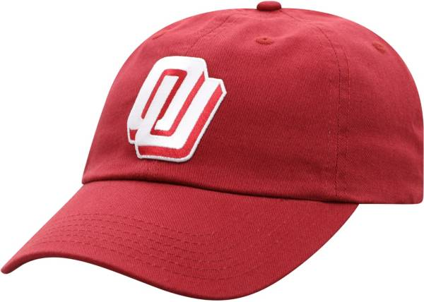Top of the World Men's Oklahoma Sooners Crimson Game of the Century Disco Logo Adjustable Hat product image