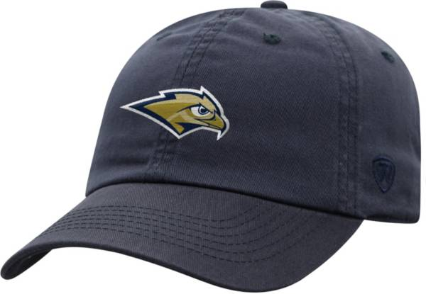 Top of the World Men's Oral Roberts Golden Eagles Navy Blue Staple Adjustable Hat product image