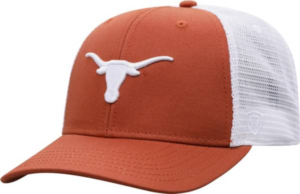 Top of the World Men's Texas Longhorns Burnt Orange/White BB Two-Tone Adjustable Hat product image