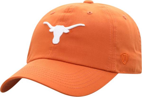 Top of the World Men's Texas Longhorns Burnt Orange Staple Adjustable Hat product image