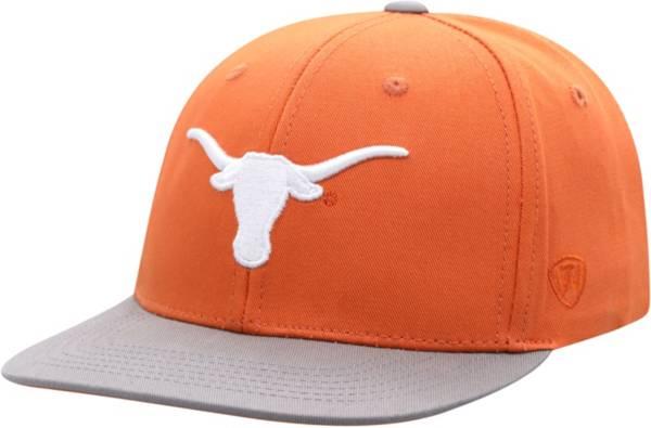 Top of the World Youth Texas Longhorns Burnt Orange Maverick Adjustable Hat product image