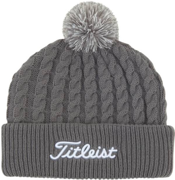 Titleist Men's Cable Knit Pom Pom Golf Hat product image