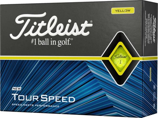Titleist 2020 Tour Speed Yellow Golf Balls product image