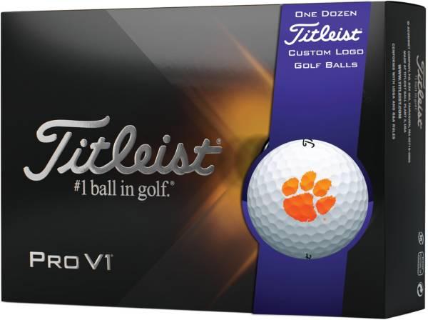 Titleist 2021 Pro V1 Clemson Tigers Golf Balls product image