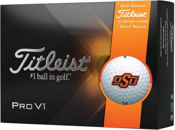 Titleist 2021 Pro V1 Oklahoma State Cowboys Golf Balls product image