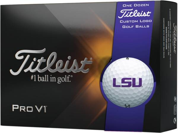 Titleist 2021 Pro V1 LSU Tigers Golf Balls product image