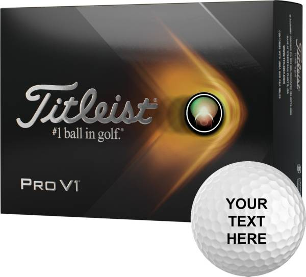 Titleist 2021 Pro V1 High Number Personalized Golf Balls product image