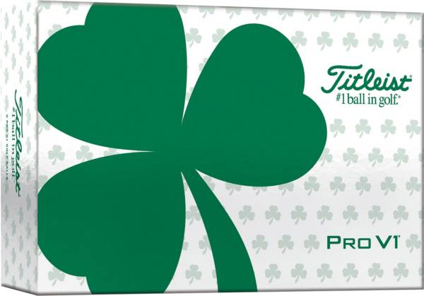 Titleist 2021 Pro V1 Shamrock Golf Balls - 6 Pack product image