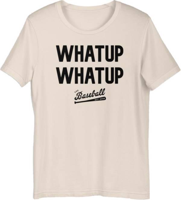 """Baseball Bat Bros Adult """"Whatup Whatup"""" T-Shirt product image"""