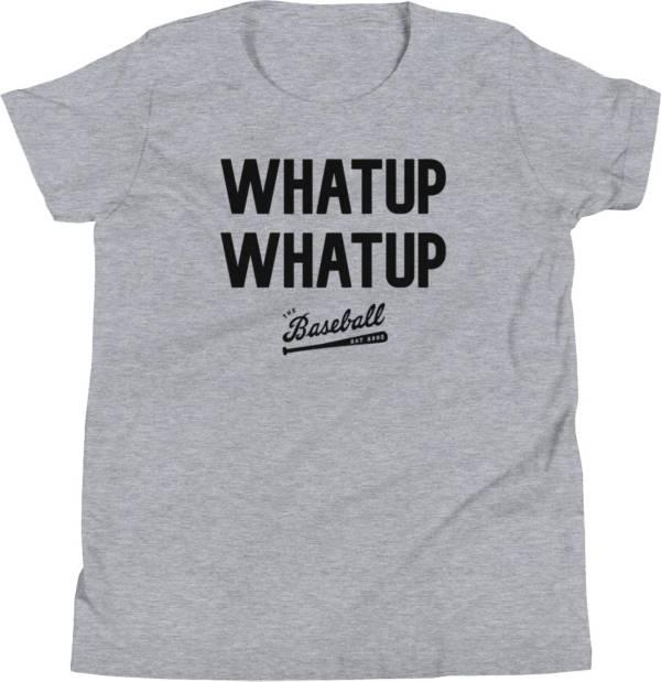 """Baseball Bat Bros Youth """"Whatup Whatup"""" T-Shirt product image"""