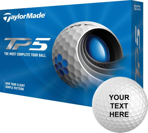 TaylorMade 2021 TP5 Personalized Golf Balls product image