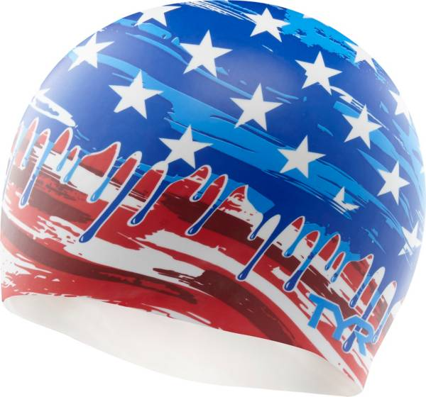 TYR Adult Silicone Independence Swim Cap product image