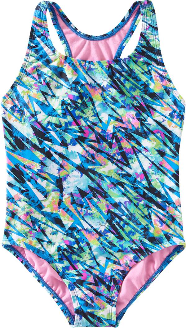 TYR Girls' Bolt Ella Max fit One Piece Swimsuit product image