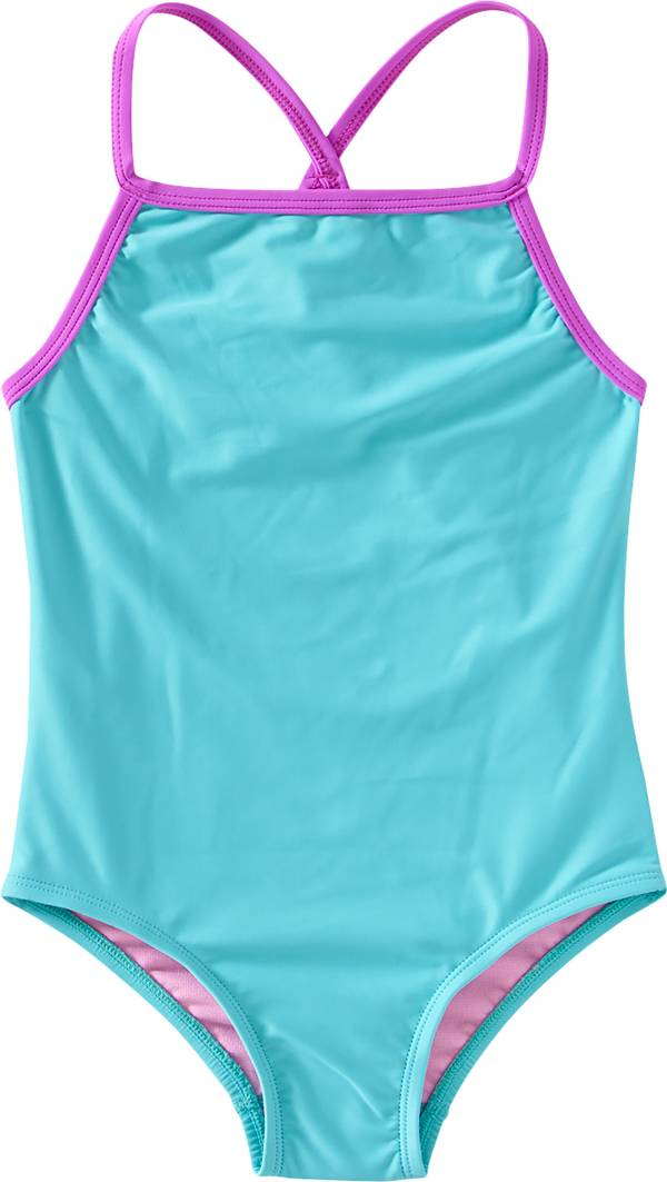 TYR Girls' Solid Addy Diamondfit One Piece Swimsuit product image