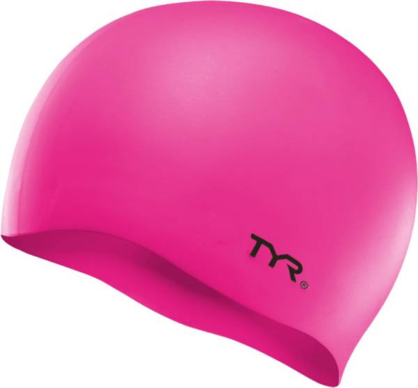 TYR Youth Silicone Wrinkle-Free Swim Cap product image
