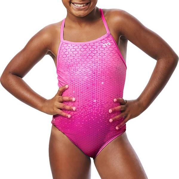 TYR x Simone Girls' Galactic Glow Diamondfit One Piece Swimsuit product image