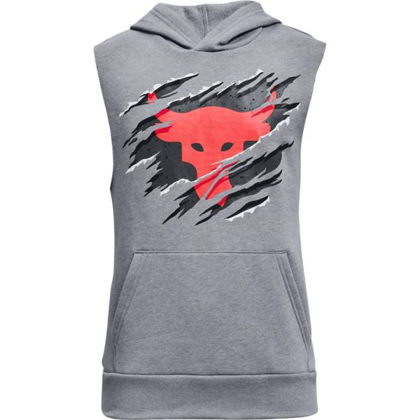 Under Armour Boys' Project Rock Rival Hoodie product image