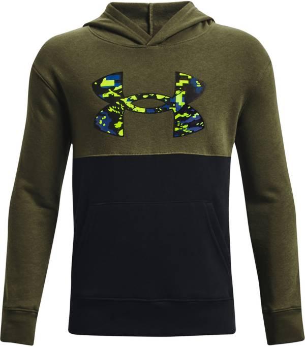 Under Armour Boys' UA Rival Fleece AMP Hoodie product image