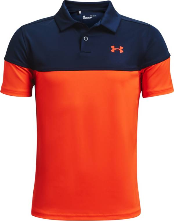 Under Armour Boys' Performance Blocked Golf Polo product image
