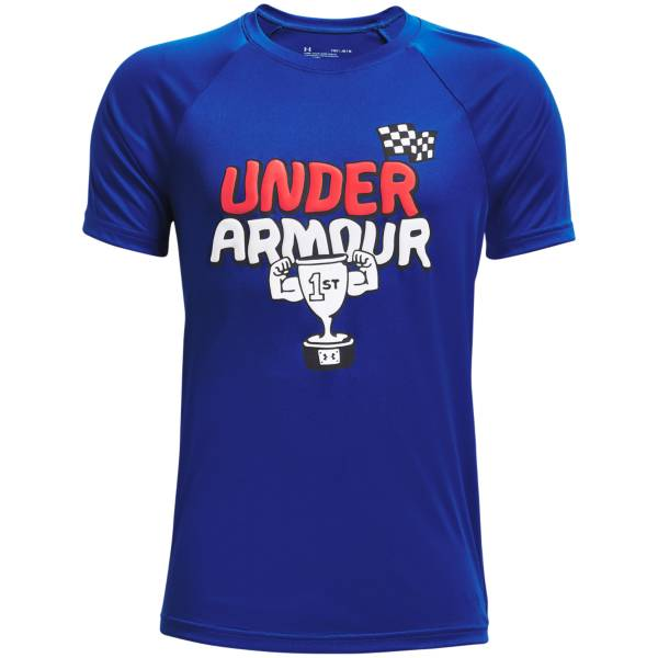 Under Armour Boys' Tech First Place Graphic T-Shirt product image
