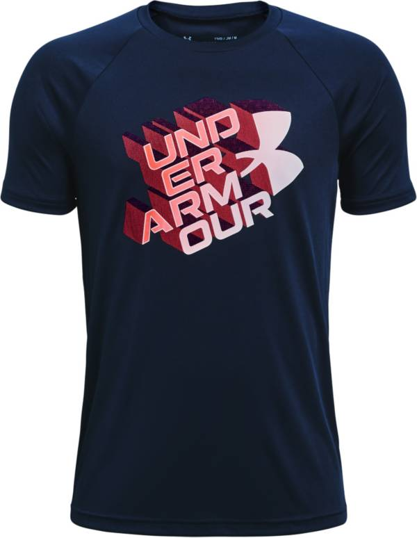 Under Armour Boys' Tech Glow Half Symbol T-Shirt product image