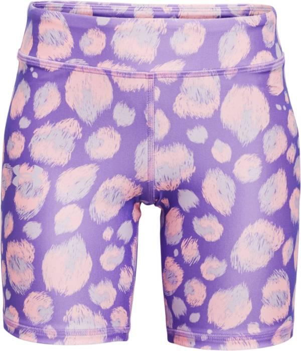 Under Armour Girls' HeatGear Printed Bike Shorts product image