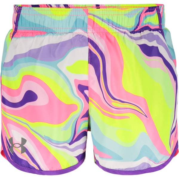 Under Armour Little Girls' Rainbow Fly-By Shorts product image