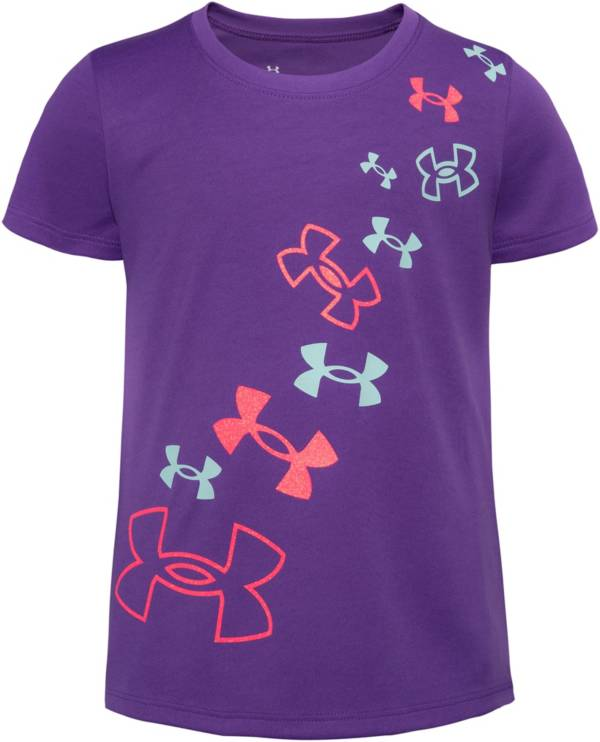 Under Armour Little Girls' Tulip Logo T-Shirt product image