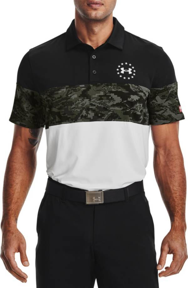 Under Armour Men's Freedom Blocked Golf Polo product image