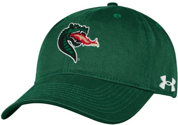 Under Armour Men's UAB Blazers Green Cotton Twill Adjustable Hat product image