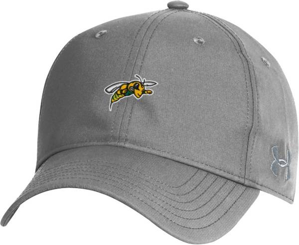 Under Armour Men's Black Hills State Yellow Jackets Grey Performance 2.0 Adjustable Hat product image