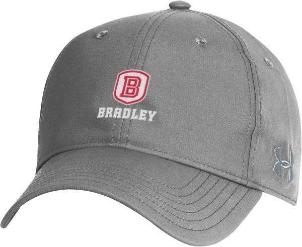 Under Armour Men's Bradley Braves Grey Performance 2.0 Adjustable Hat product image