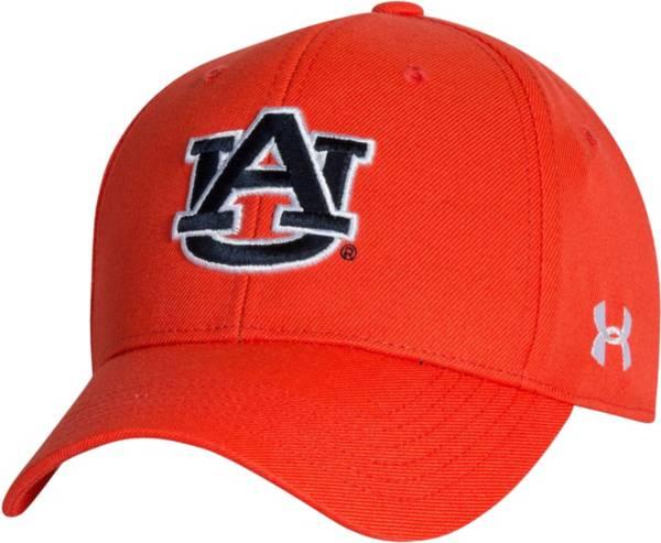 Under Armour Men's Auburn Tigers Orange Adjustable Hat product image