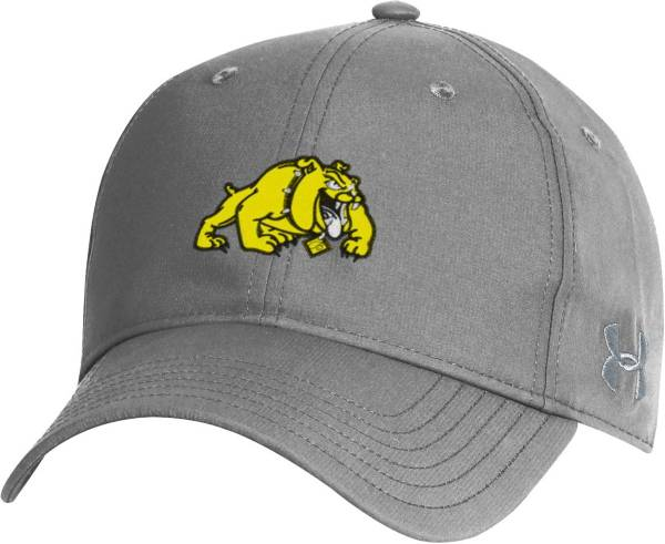 Under Armour Men's Bowie State Bulldogs Grey Performance 2.0 Adjustable Hat product image