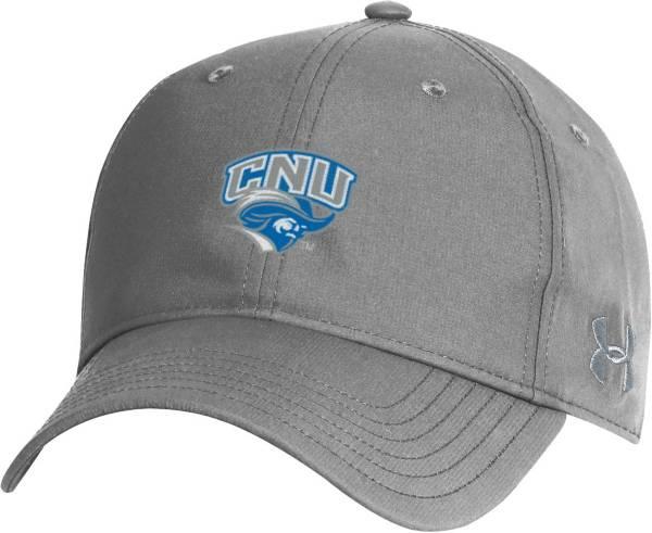 Under Armour Men's Christopher Newport Captains Grey Performance 2.0 Adjustable Hat product image