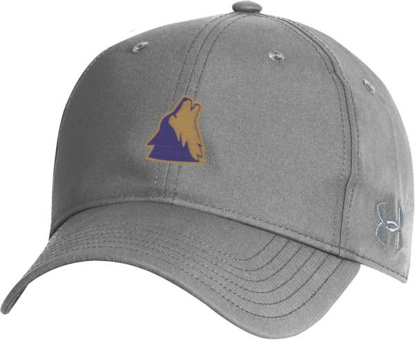 Under Armour Men's College of Idaho Yotes Grey Performance 2.0 Adjustable Hat product image