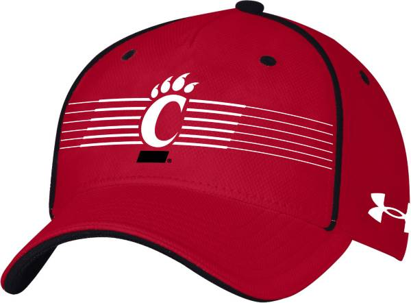 Under Armour Men's Cincinnati Bearcats Red Iso Chill Adjustable Hat product image