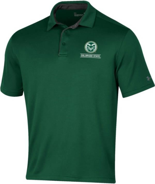 Under Armour Men's Colorado State Rams Green Tech Polo product image