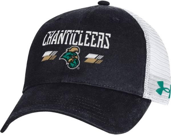 Under Armour Men's Coastal Carolina Chanticleers Black Adjustable Hat product image