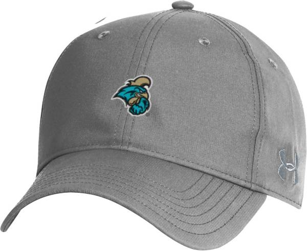 Under Armour Men's Coastal Carolina Chanticleers Grey Performance 2.0 Adjustable Hat product image