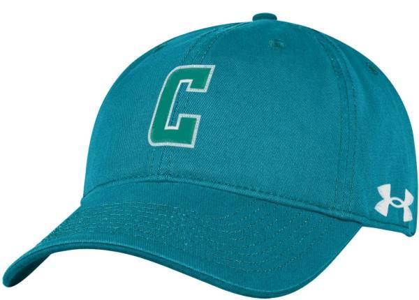 Under Armour Men's Coastal Carolina Chanticleers Teal Cotton Twill Adjustable Hat product image