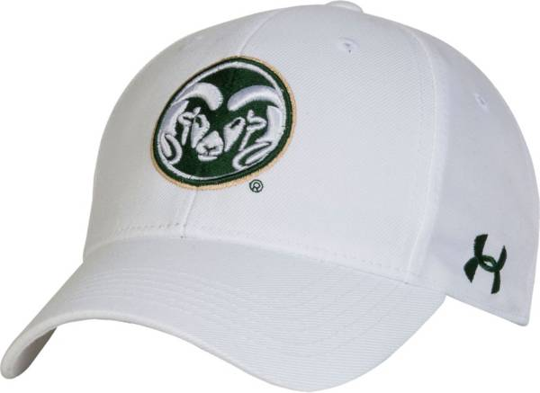 Under Armour Men's Colorado State Rams White Adjustable Hat product image